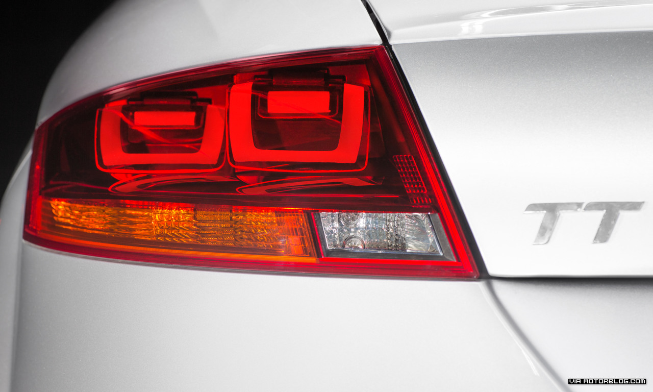 Audi TT Gleams with Cutting Edge OLED Rear Lights