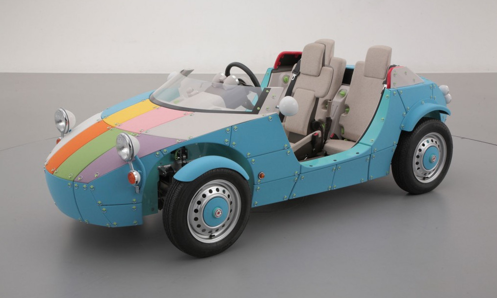 Toyota's Electric Concept Car For The Kiddies #Video