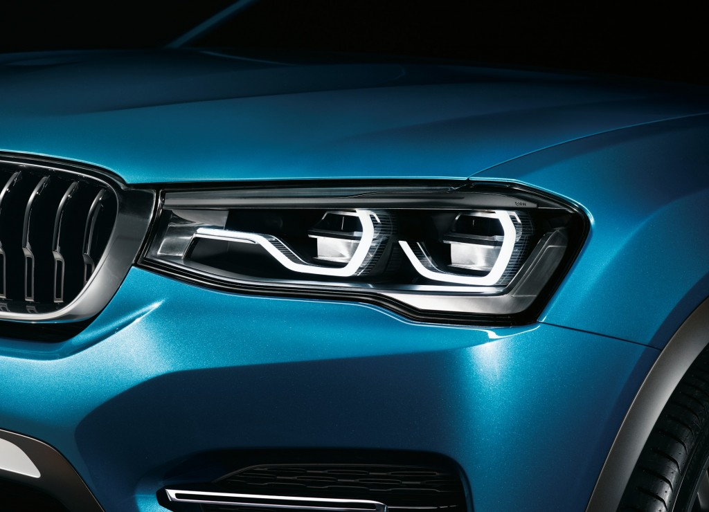Shanghai Auto Show | BMW X4 Concept Living Up to Expectations #Video