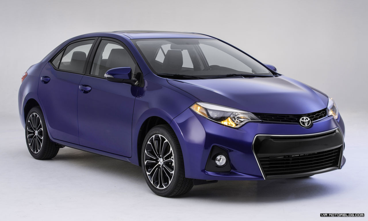 Newly Unveiled Toyota Corolla 2014, Great Eco Specs