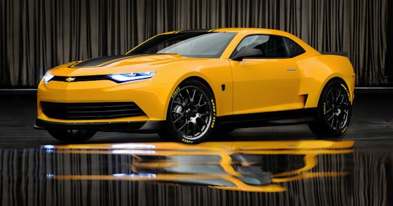 2014 Camaro Concept will be the next Bumblebee