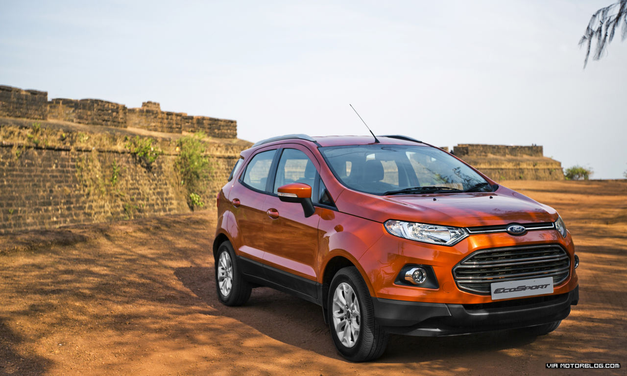 Ford EcoSport Records 30,000 Bookings in Just 17 days