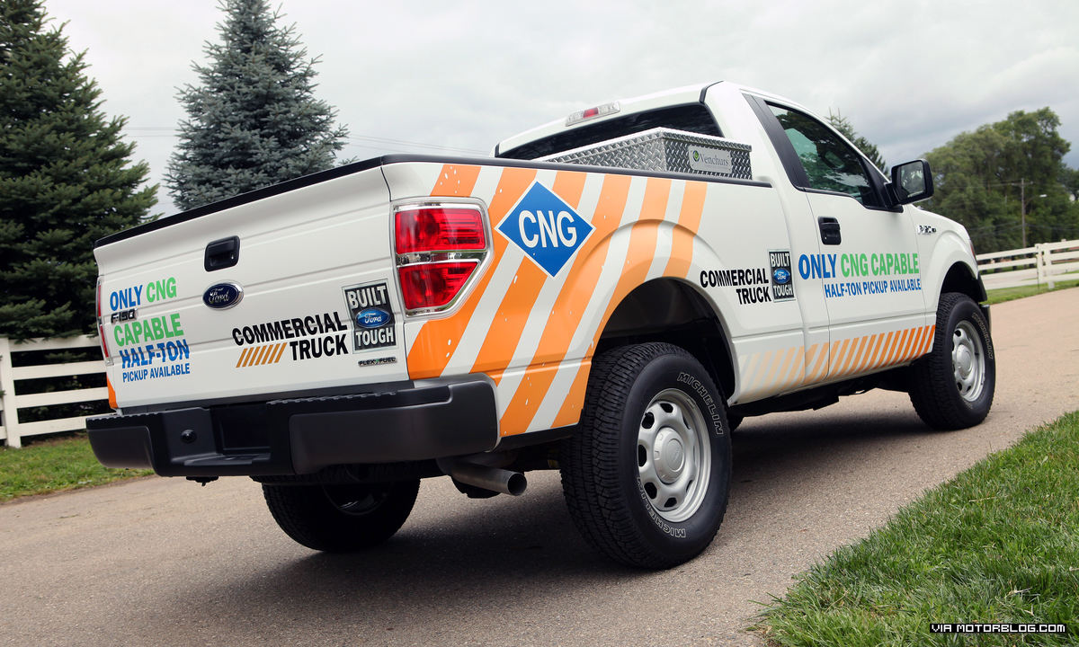 Ford F-150 to Offer Ability to Run on Compressed Natural Gas; Sales of Ford CNG-Prepped Vehicles Continue Growth