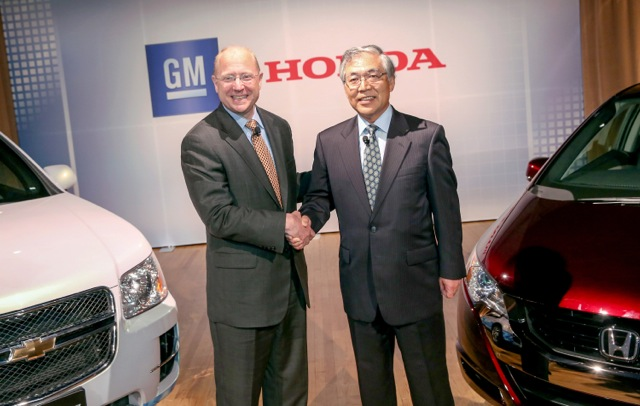 Honda and General Motors partner to develop next fuel-cell technologies