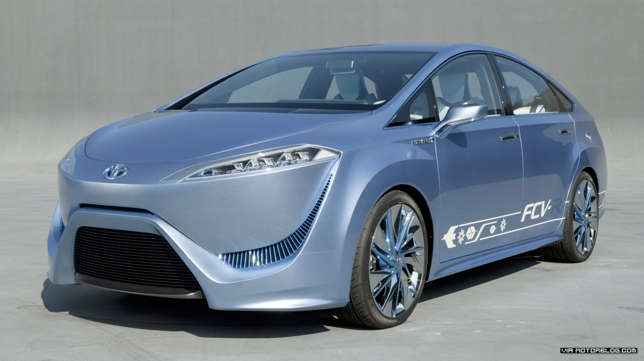 Toyota working on a hydrogen-fuel cell-powered car