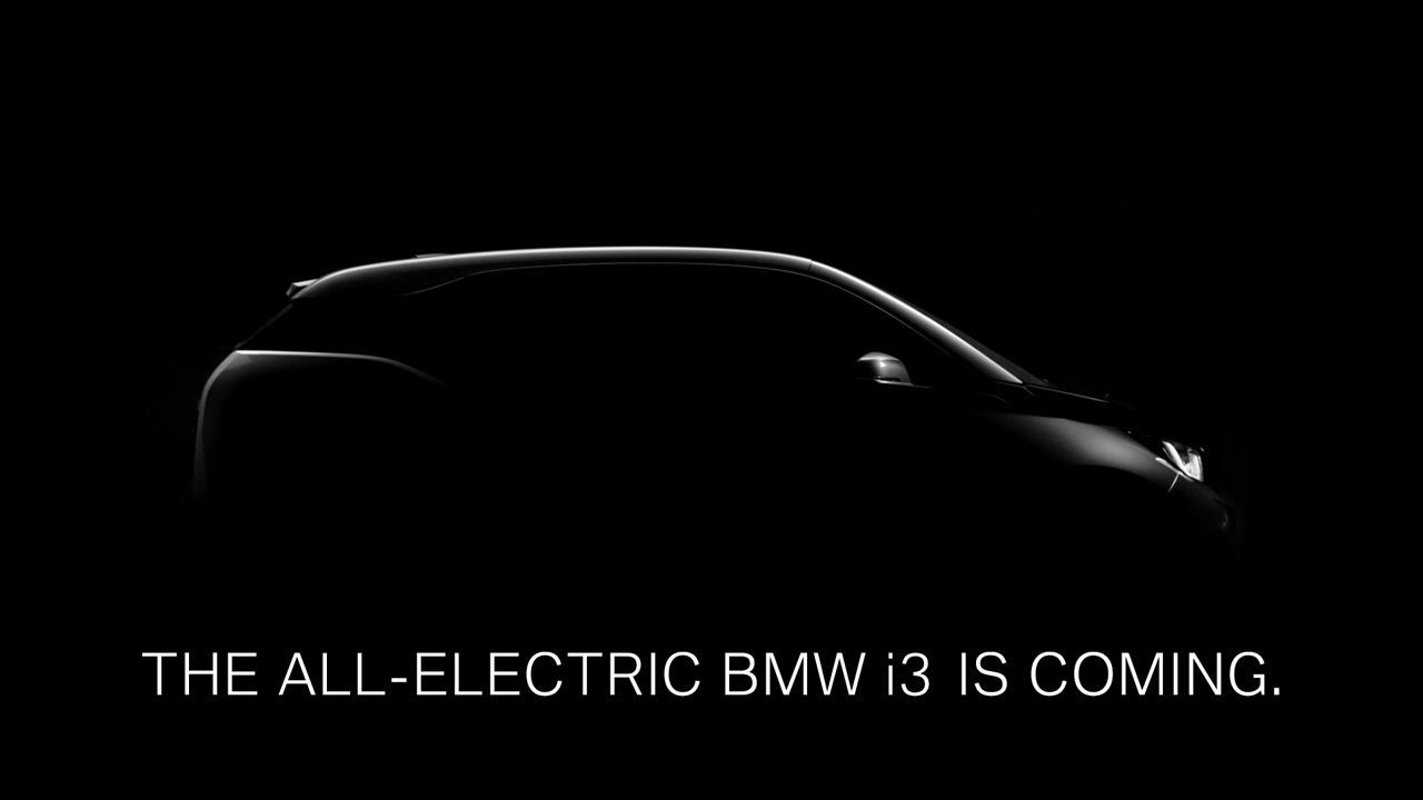 Green Motor | BMW releases first teaser for new BMW i3 electric car #Video