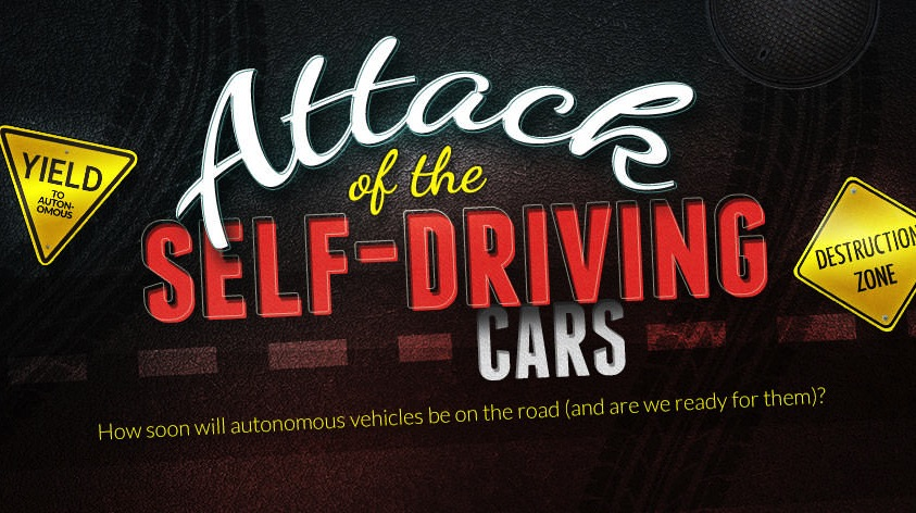 Infographic | Attack of the Self-Driving Cars