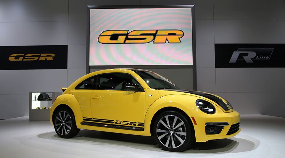 Volkswagen shows off Limited-edition Beetle GSR