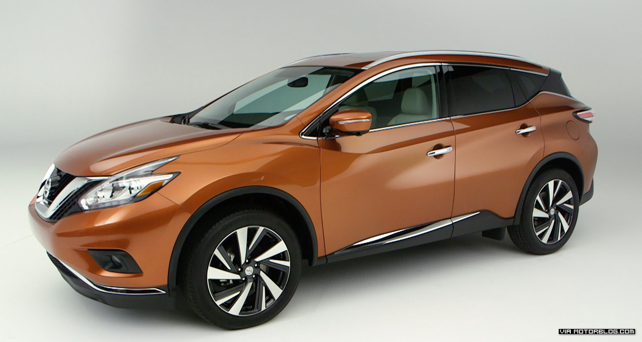The design and details of the new Nissan Murano unveiled in NYC #Video