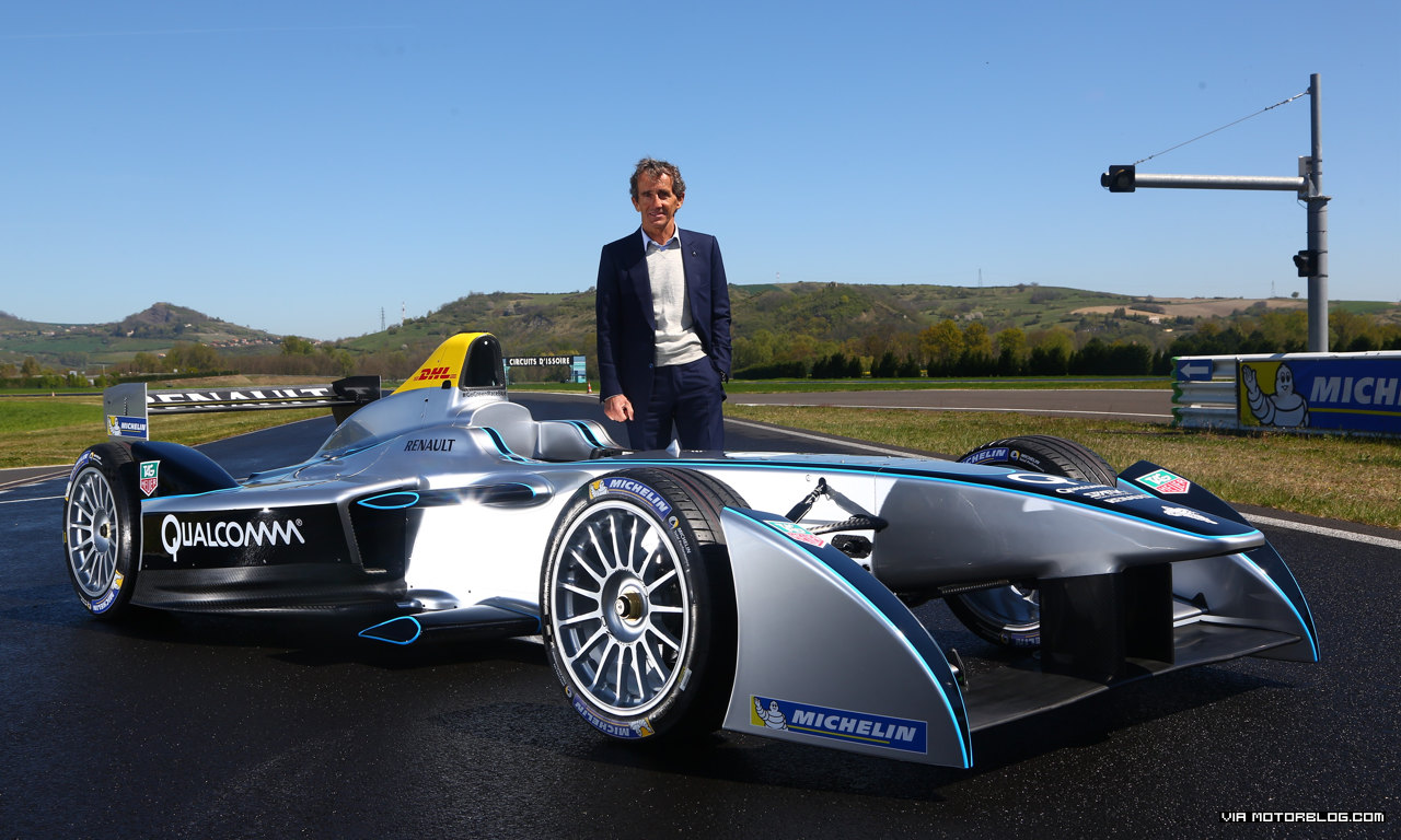 Counting down to FIA Formula E action with Renault