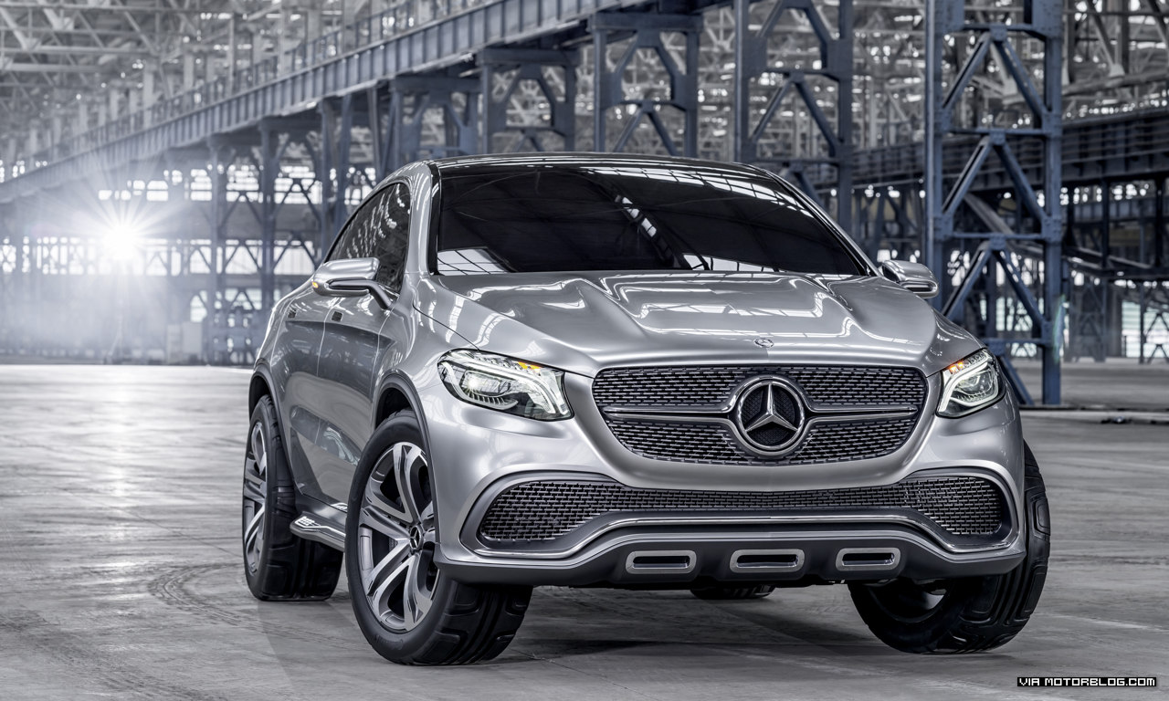 Mercedes-Benz Concept Coupé SUV: Sporty Coupé at the highest level